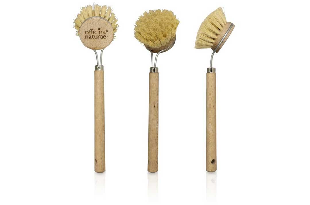 spazzola piatti in legno officina naturae