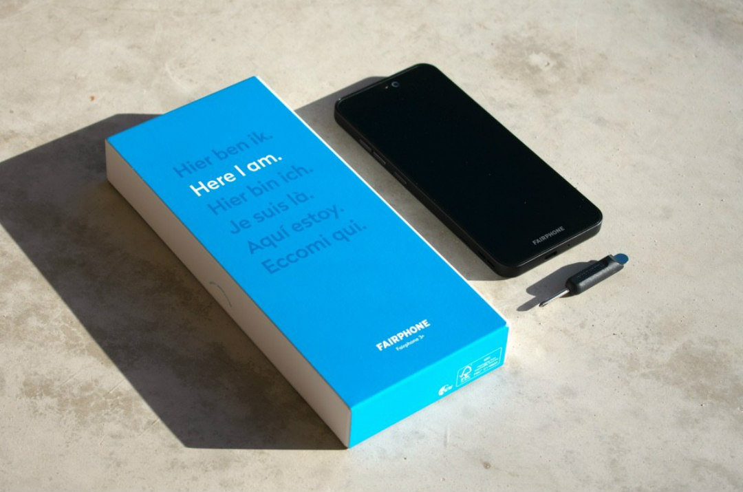 contenuto confezione fairphone