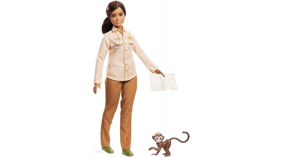 Barbie National Geographic wildlife conservationist