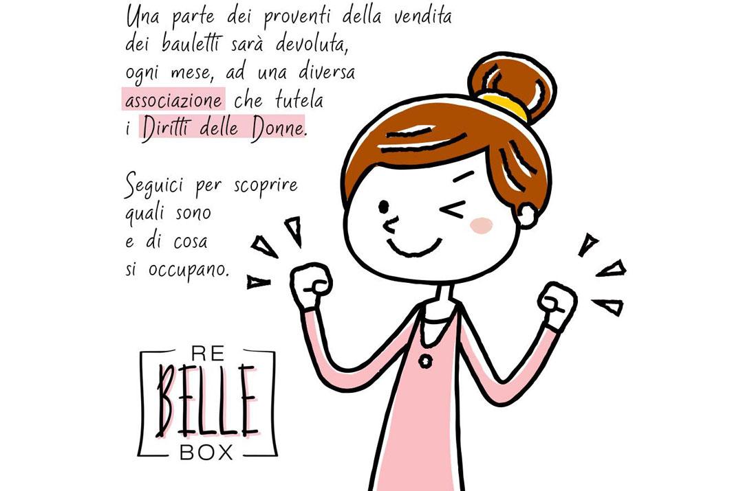 Rebelle box beneficienza