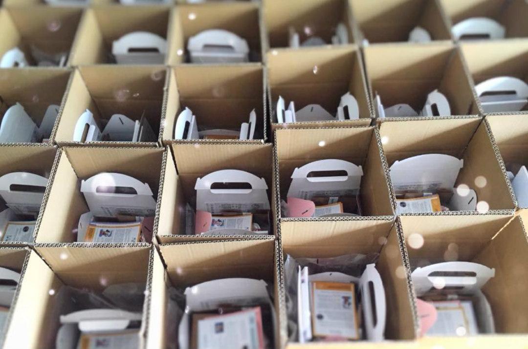 Rebelle Box preparazione