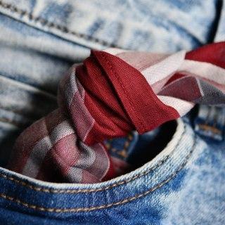 fazzoletti di stoffa