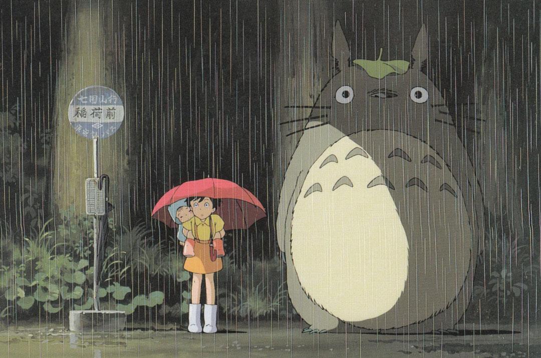 Il mio vicino Totoro fermata autobus