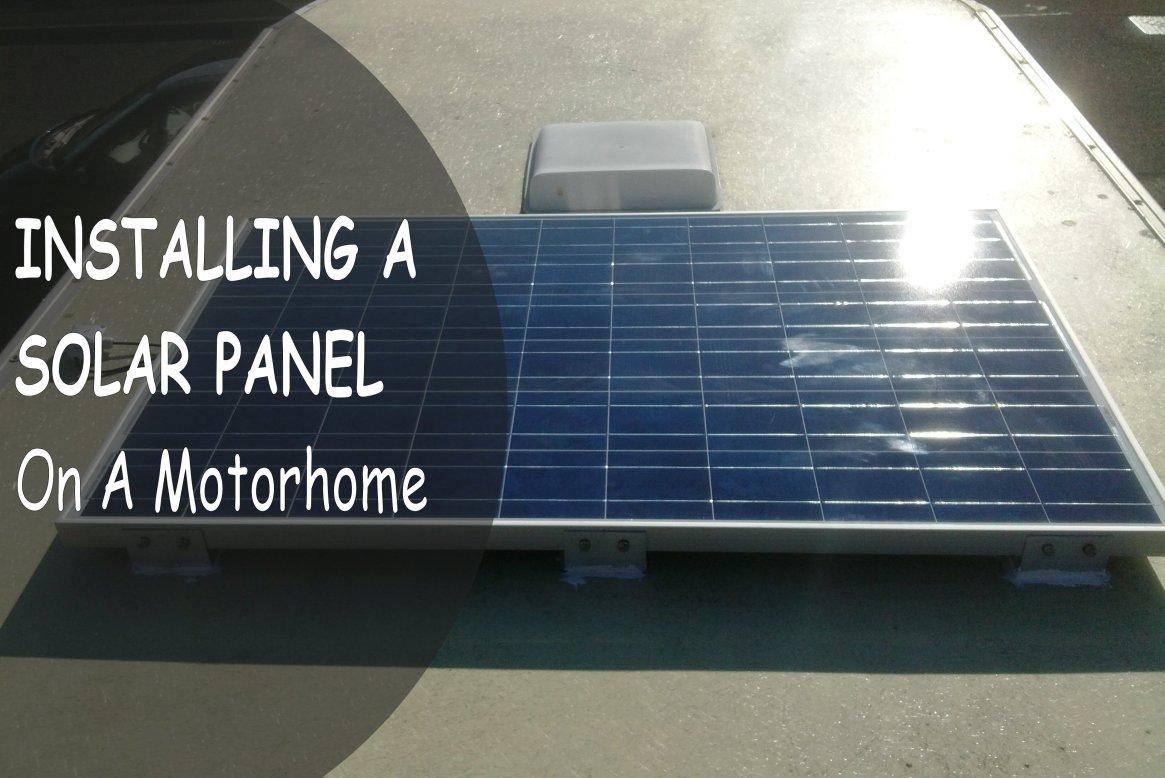 Solar Panel Install Title