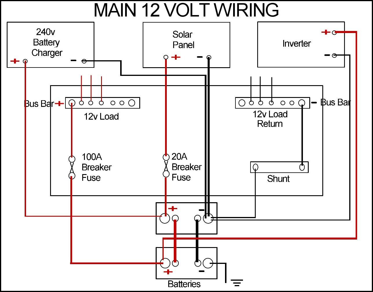 caravan battery wiring diagram best wiring library rh 101 princestaash org