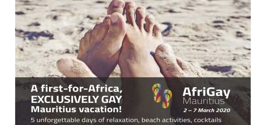 EXCLUSIVELY GAY vacation in Mauritius, a first-for-Africa!