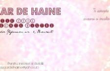 Bazaar de Haine, cel mai nou concept de evenimente de shopping debutează pe 14 martie în București