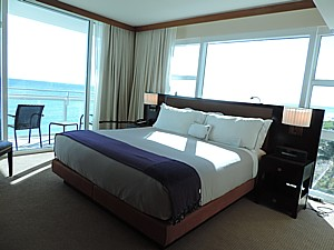 Canyon Ranch Miami Beach's all-suite hotel offers gorgeous ocean views © 2015 Karen Rubin/news-photos-features.com.