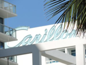 Canyon Ranch Miami Beach occupies the historic Carillon Hotel  © 2015 Karen Rubin/news-photos-features.com.