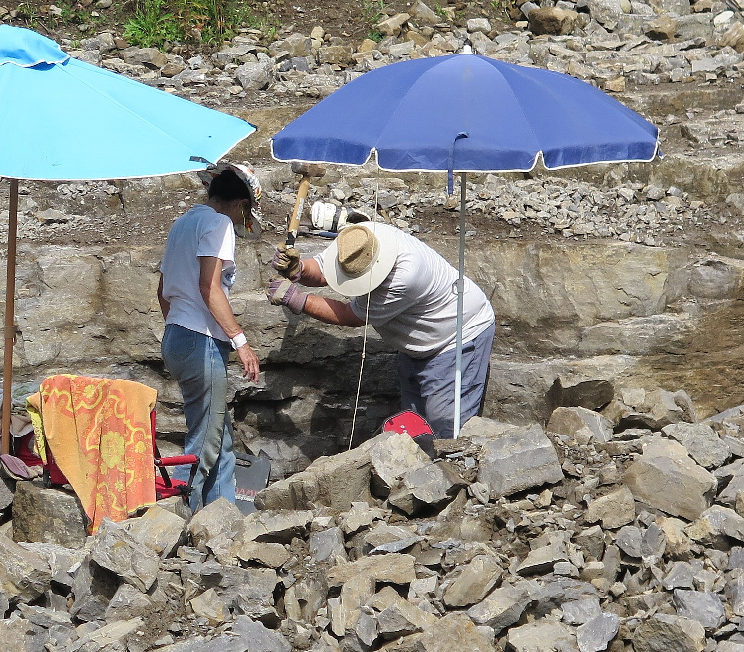 Campground Diamond: Diamond Mining, Robotics, Erie Canal Cruises Top List Of