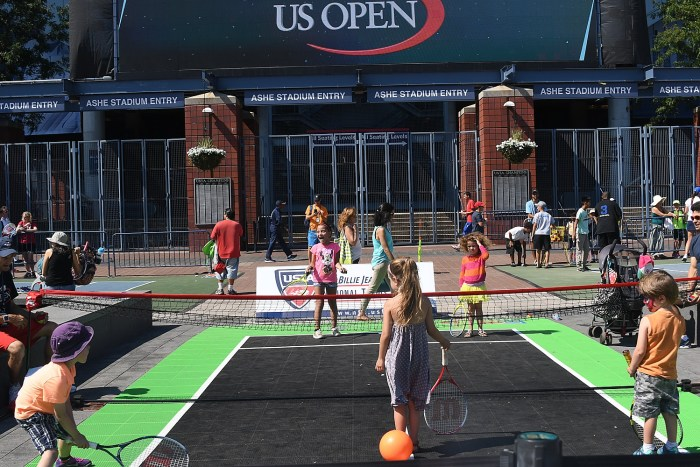 Getting into the swing: Children's Day events at the US Open © 2016 Karen Rubin/news-photos-features.com