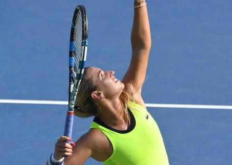 Katerina Siniakova at the US Open © 2016 Karen Rubin/news-photos-features.com