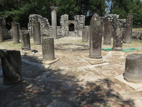 Baptistry at Butrint © 2016 Karen Rubin/goingplacesfarandnear.com