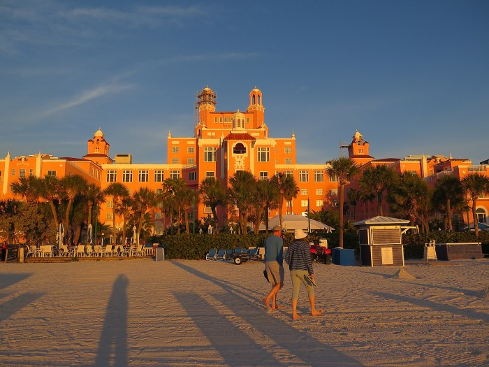 The Loews Don CeSar, on St. Petersburg Beach, Florida © 2016 Karen Rubin/goingplacesfarandnear.com