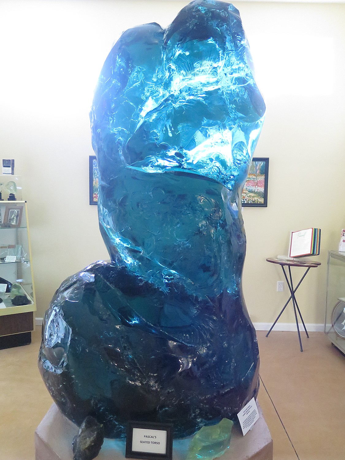 World\'s Largest\' Glass Sculpture with Trump Connection is Boon for ...