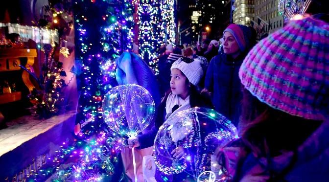 Nighttime Stroll of New York City's Holiday Lights
