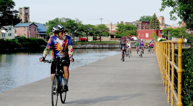 Cycle the Erie: 400 Miles & 400 Years of History Flow By on Canalway Bike Tour Across New York State