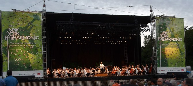 New York Philharmonic Orchestra Brings 'Priceless' Music to Free Summer Concert in Prospect Park