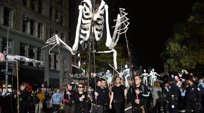 "New York City's 45th Annual Village Halloween Parade Dazzles with ""I AM a Robot"" Theme"