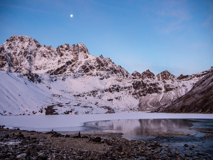 Gokyo lake sunrise