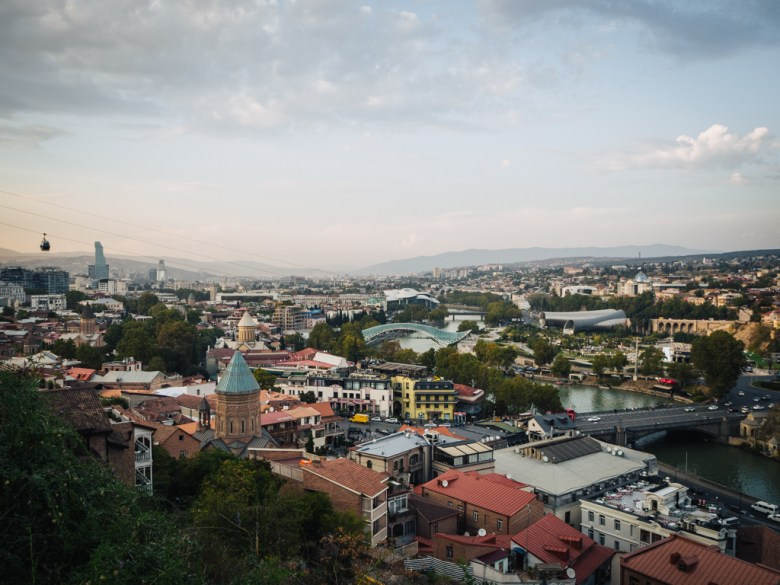 Tbilisi view