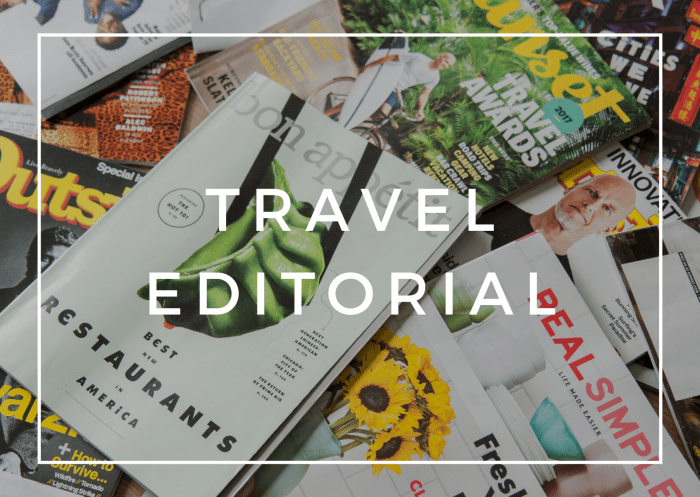 travel editorial