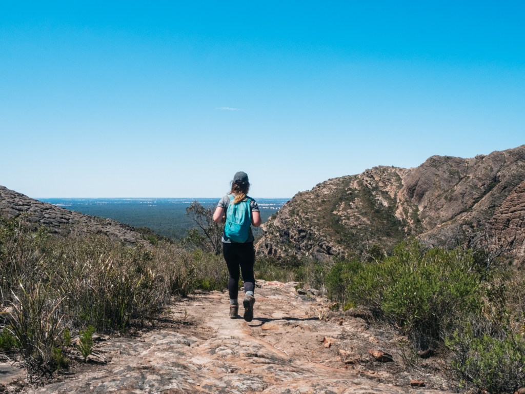 Hiking in the Grampians