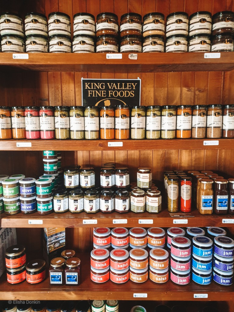 King Valley food