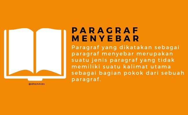 jenis paragraf berdasarkan letak kalimat utama