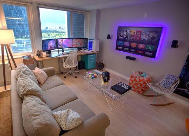 Living gaming corner
