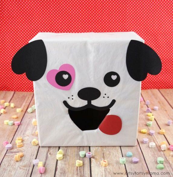Simple Cute Puppy Cube