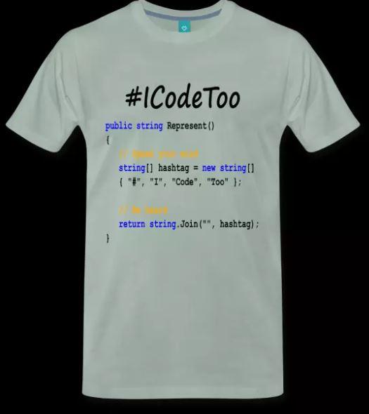 Software Development Coder Represent Shirt