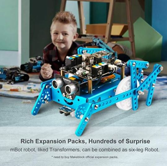Coding Game For Kids Makeblock mbot robot kit