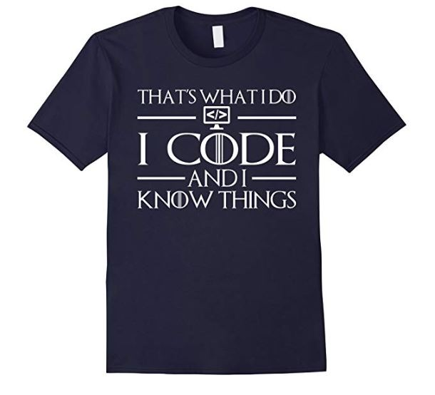 coding what I do shirt
