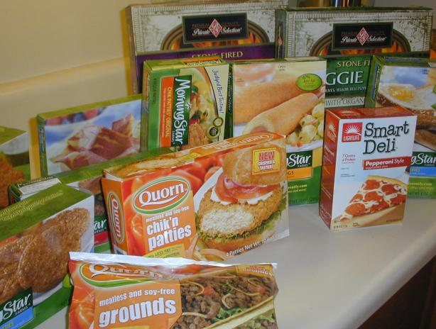boxed meatless convenience foods