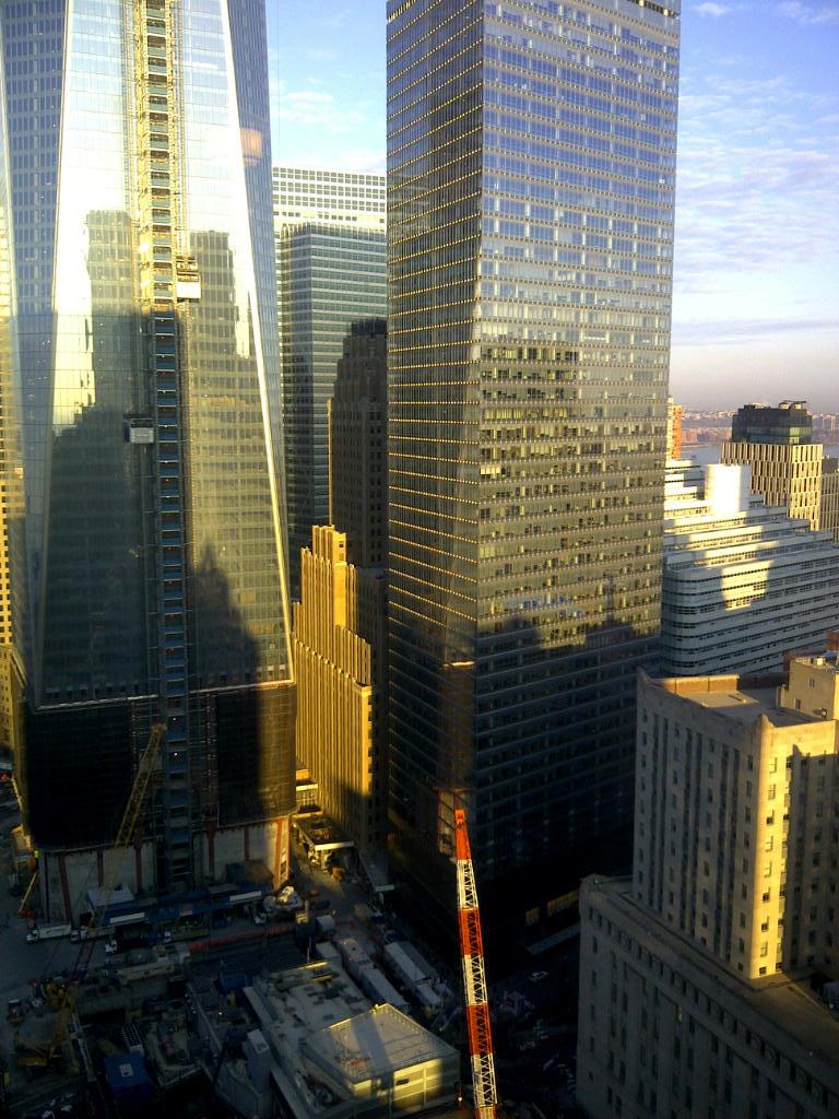 One World Trade Center and Neighbors