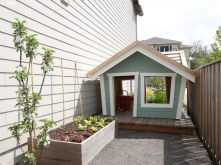 Side Yard / Cutest little playhouse ever
