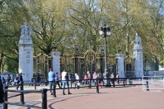 Canada Gate by Buckingham Palace