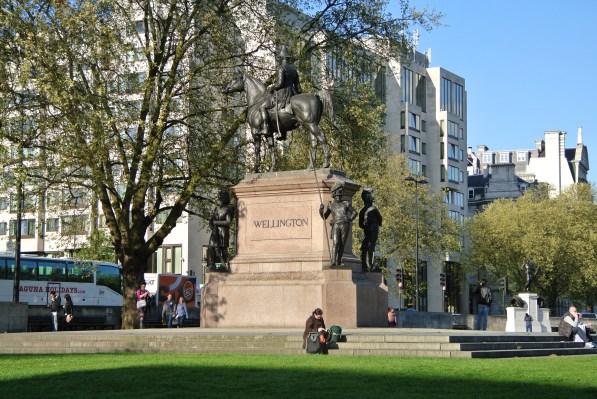 Duke of Wellington Statue - Hyde Park Corner