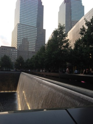 National 9/11 Memorial Reflection Pool Falls