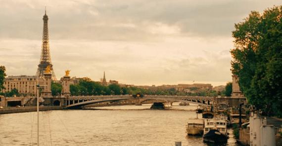Paris Cityscape from Midnight in Paris