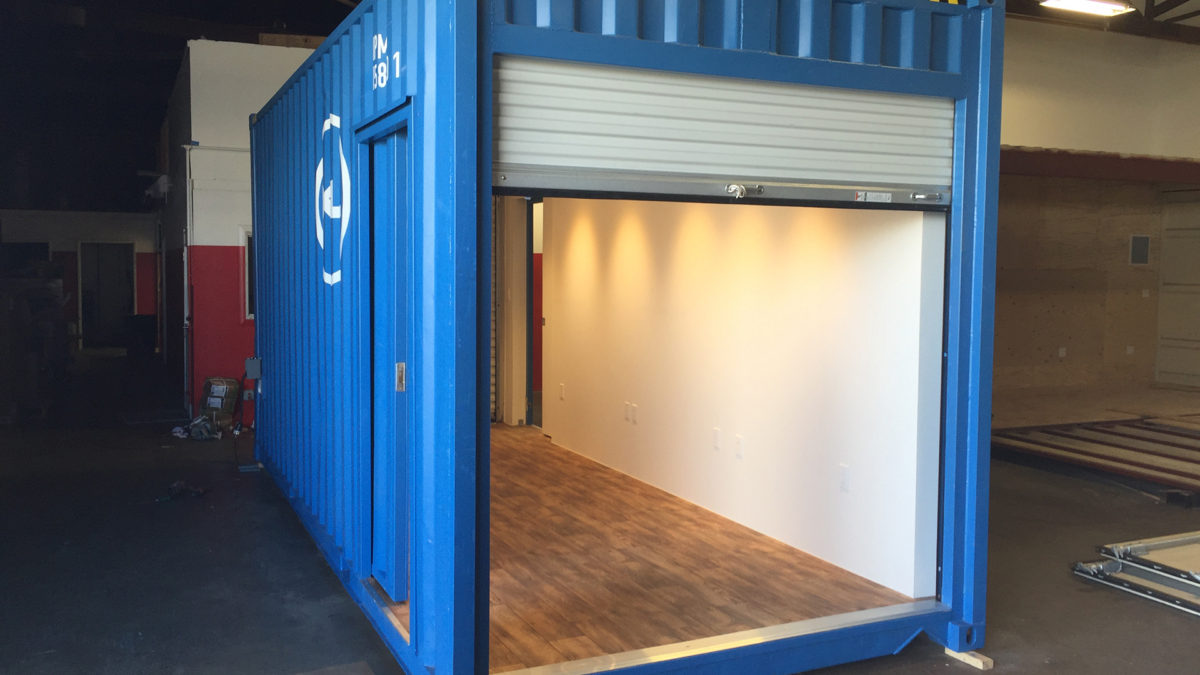 Dell Intel Shipping Container Booth IPME