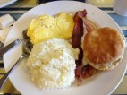 A delicious Southern breakfast!