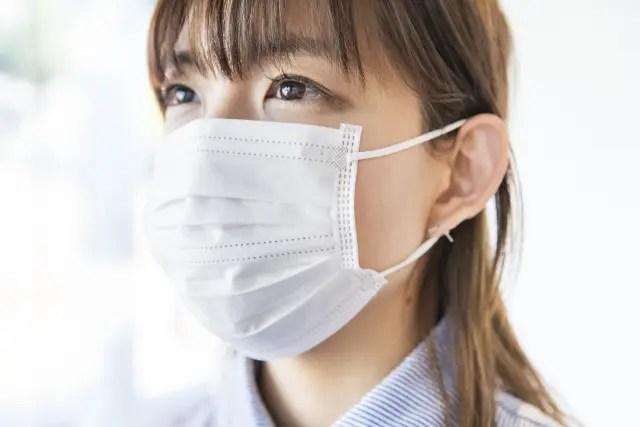 夏場のマスク着用