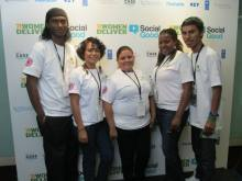 GOJoven Fellows and other youth leaders represent Belize at the 2013 Women Deliver Conference (click to enlarge)