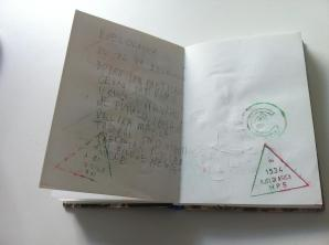 ...Markov planinarski dnevnik sa žigom i dojmovima sa Bjelolasice