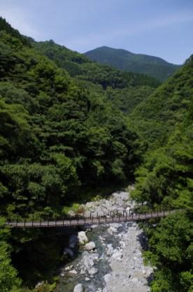 Twin suspension bridges of Momigi, Gokanosho