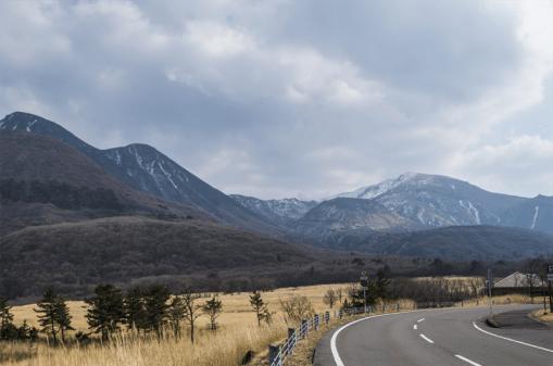 Range of Mt Kuju