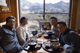 Soba lunch at Otaniya