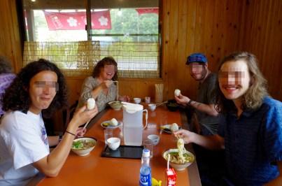 Lunch at Toyama Honten